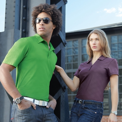 North End Women's Polo Shirt: Performance Comfort Stretch w/ Moisture Wicking (78659)