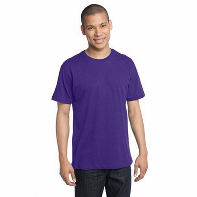 District Threads Men's T-Shirt: 100% Cotton Perfect Weight District (DT104)