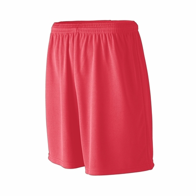 Augusta Sportswear Youth Shorts: 100% Polyester Wicking Mesh Athletic Full-Cut 7-Inch (806)