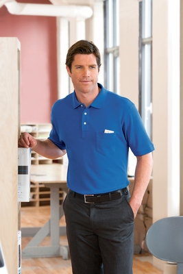 Chestnut Hill Men's Polo Shirt: 100% Cotton Performance Plus Pique Pocket (CH100P)