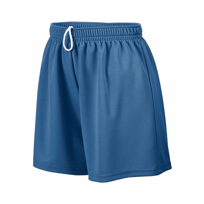 Augusta Sportswear Girls Shorts: 100% Polyester Wicking Mesh 5-inch  with Inside Drawcord (961)