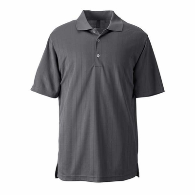 Ashworth Men's Polo Shirt: 100% Polyester Interlock Performance Texture (3045)