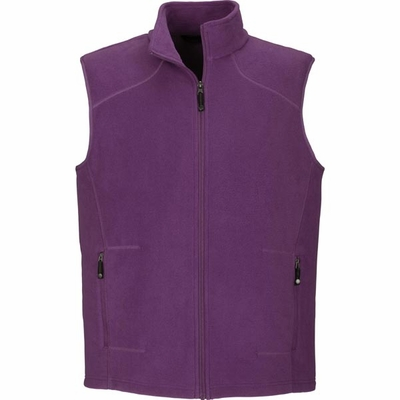 North End Men's Vest : Extra Soft Anti-PillFleece Knit (88173)