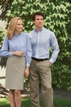 Van Heusen Men's Oxford Shirt: Long-Sleeve Wrinkle-Resistant (56800)