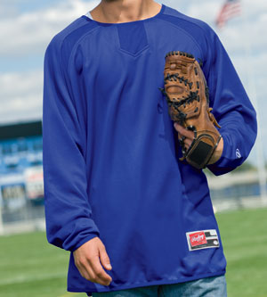 Rawlings Men's Athletic Jersey: Flatback Mesh Pullover (RP9705)