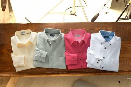 Chestnut Hill Men's Oxford Shirt: 100% Cotton Performance Plus (CH580)