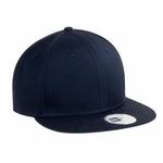 New Era Cap: 100% Cotton Flat Bill Adjustable (NE400)
