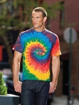 Tie-Dye Men's T-Shirt: 100% Cotton (CD100)