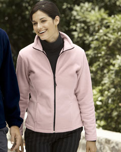 Devon & Jones Women's Jacket: Wintercept Fleece Full-Zip (D780W)