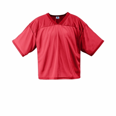 Augusta Sportswear Youth Football Jersey: 100% Polyester Tricot Mesh (241)