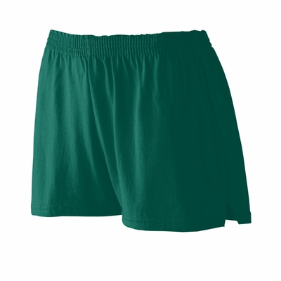 Augusta Sportswear Junior Women's Shorts: 50/50 Jersey Trim Fit V-Notch 3-Inch (987)