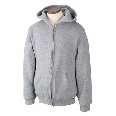 Russell Athletic Youth Sweatshirt: Dri-Power Fleece Full-Zip Hoodie (997HBB)