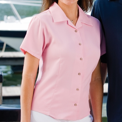 Inner Harbor Women's Camp Shirt: Full Button Front (3001)