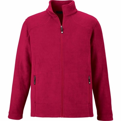 North End Men's Jacket: Extra Soft Anti-Pill Fleece Knit (88172)