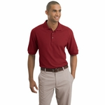 Nike Men's Polo Shirt: 100% Cotton Pique Knit (193581)