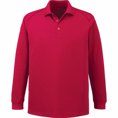 Extreme Men's Polo Shirt: Moisture Wicking Snag Protection Long Sleeve (85111T)