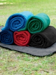 Harriton Blanket: 12.7 oz. Fleece Throw (M999)