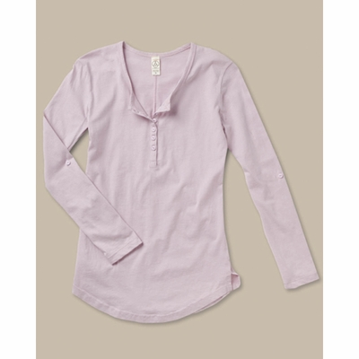 alternative Women's Henley: (AA4016)