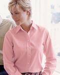 Devon & Jones Women's Twill Shirt: 100% Pima Cotton Advantage (D610W)
