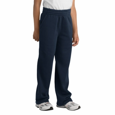 Sport-Tek Youth Sweatpants: Front Slash Pockets (Y257)