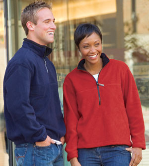 Colorado Clothing Men's Jacket: Classic Fleece Quarter Zip Pullover (12010)