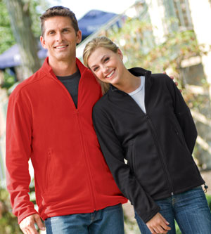 Colorado Clothing Men's Jacket: Full Zip Eco Fleece With Sleeve Pod Pocket (9999)
