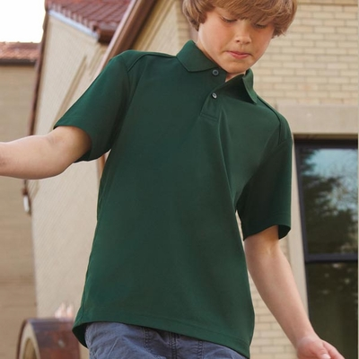 Extreme Youth Polo Shirt: Snag Protection Short Sleeve w/ Moisture Wicking (65108)