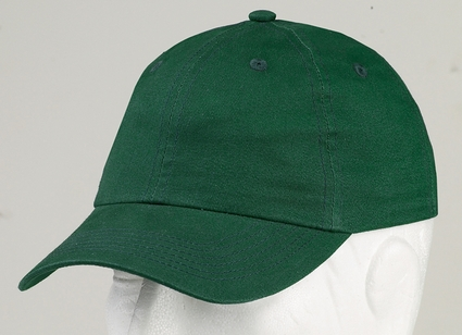 Harriton Youth Cap: 100% Cotton 6-Panel Unstructured Brushed Twill (M835Y)