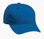 Harriton Cap: 100% Cotton 6-Panel Structured Twill (M820)