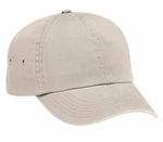 Harriton Cap: 100% Cotton Washed Twill Baseball (M845)