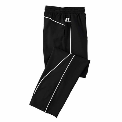 Russell Athletic Men�s Pants: 100% Polyester Team Prestige with Contrast Piping (S82JZM)