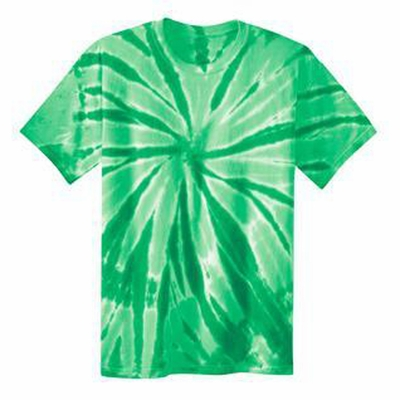 Port & Company Men's T-Shirt: Essential Tie-Dye Crewneck(PC147)