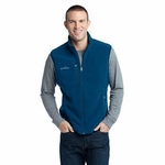 Eddie Bauer Men's Vest: Fleece with Lower and Chest Pocket (EB204)