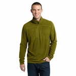 Eddie Bauer Men's: 1/4 Zip Grid Fleece Pullover(EB220)