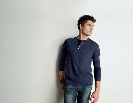 Canvas Men's Henley: 100% Cotton Long-Sleeve (3150)