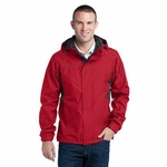 Eddie Bauer Men's Rain Jacket: Seam Sealed ColorBlock (EB550)