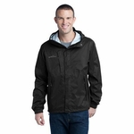 Eddie Bauer Men's Jacket: Packable Seam Sealed Rain Shell (EB552)