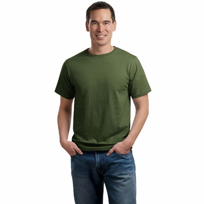 Port & Company Men's T-Shirt: Organic Cotton Crewneck(PC50ORG)