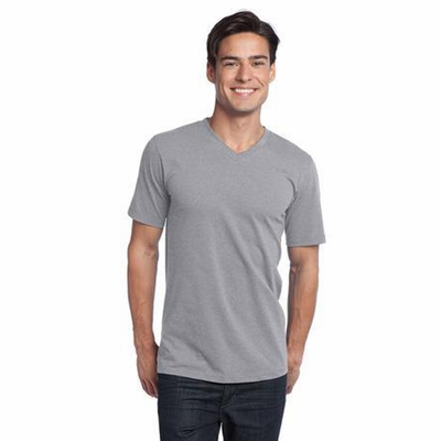 District Young Men's T-Shirt: Concert V-Neck(DT5500)