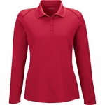 Extreme Women's Polo Shirt: Moisture Wicking Snag Protection Long Sleeve (75111)