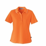 Extreme Women's Polo Shirt: Edry Cotton Blend Needle Out Interlock (75045)