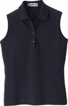 Extreme Women's Polo Shirt: Sleeveless Cotton Stretch (75050)