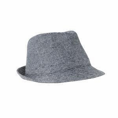 District Fedora: Herringbone(DT622)
