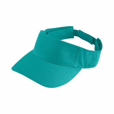 Augusta Sportswear Youth Visor: 100% Cotton Twill Sport (6226)