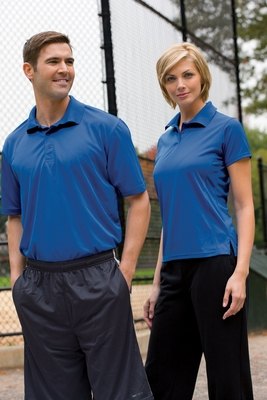 Harriton Men's Polo Shirt: 4 oz. Polytech (M315)
