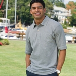 Inner Harbor Men's Polo Shirt: Mainsail Mesh/Pique (7001)
