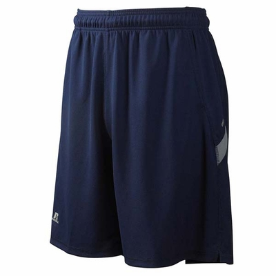 Russell Athletic Men�s Shorts: 100% Polyester Dri-Power Colorblock 9-Inch (6B4DPM)