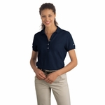 Nike Women's Polo Shirt: 100% Cotton Pique Knit (297995)
