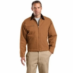 CornerStone Men's Jacket: 100% Cotton Duck Cloth Work (J763)