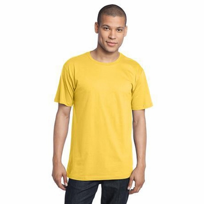 District Threads Men's T-Shirt: 100% Organic Cotton Perfect Weight (DT104ORG)